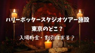 ハリーポッターのテーマパークは東京のどこ?いつオープン?入場料金や割引は