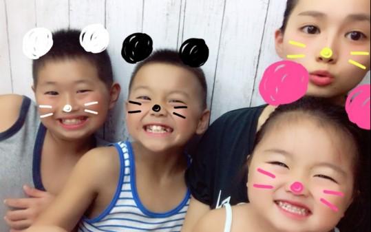 箭内夢菜(やない ゆめな)の弟2人と妹1人が可愛い!