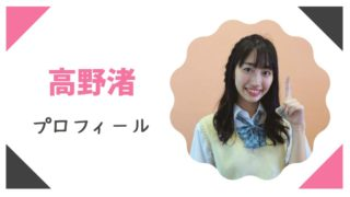 高野渚(たかのなぎさ)プロフィールWiki!かわいい!元アイドルグループ所属