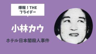 ばくほうフライデーホテル日本閣連続殺人の犯人小林カウとは?