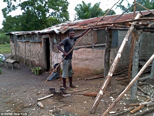 リベリアの男性