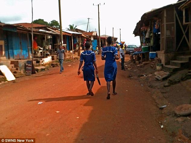 リベリアの女性たち